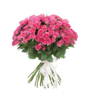 Роза спрей Лавли Лидия букет 20 шт