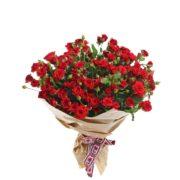 Роза спрей Мирабель букет 20 шт