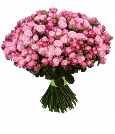 Роза спрей Леди Бобастик букет