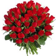 Букет 51 роза импортная