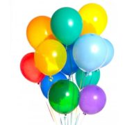 15 разноцветных шаров