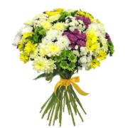 Букет хризантем 15 шт