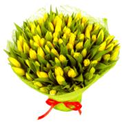 Букет тюльпаны 101 шт
