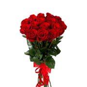 Роза Голландская букет 15 шт 60 см