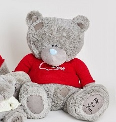 Мишка Тедди в свитере 65 см